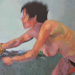 Friday Afternoon I, 120 x 180 cm, acrylic on canvas