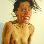 Wild, 180 x 120 cm, acrylic on canvas