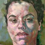 Wet, 140 x 110 cm, acrylic on canvas