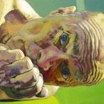 Green Floor, 120 x 180 cm, acrylic on canvas