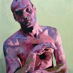 Woyzeck II, 160 x 120 cm, acrylic on canvas