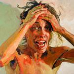 OMG, 120 x 160 cm, acrylic on canvas