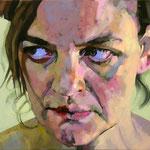 Tress, 100 x 120 cm, acrylic on canvas