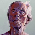 Three Weeks Left (small), 100 x 100 cm, acrylic on canvas