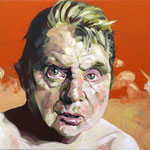 Francis, 100 x 120 cm, acrylic on canvas
