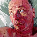 Mute, 100 x 120 cm, acrylic on canvas