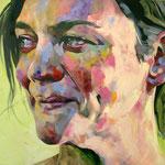 Inbetween (big), 190 x 230 cm, acrylic on canvas