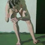 Motion IV, 120 x 100 cm, acrylic on canvas