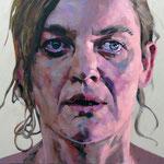 Distant, 120 x 100 cm, acrylic on canvas