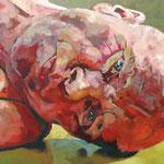 Lateral II, 100 x 120 cm, acrylic on canvas