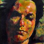 Study, acrylic on canvas, 30 x 40 cm