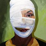 Resurrection, 120 x 100 cm, acrylic on canvas