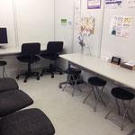 テストセンターの待合室