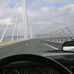 Le superbe viaduc de Millau