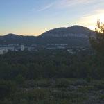 Marseille vu de l'autre côté du vallon