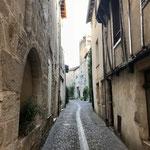 Rue typique de La Réole