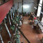 Visite de la fabrication des couteaux