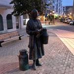Beaucoup des sculptures en bronze dans Burgos