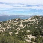 Une fois au sommet du sentier, on peut voir le Mont-Rose