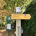 Départ pour la montée vers Roncevaux