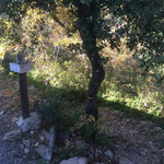 Dernier petit chemin pour rejoindre Aix en Provence