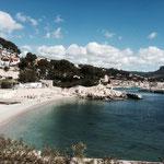 Retour sur la plage de Cassis