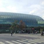 Arrivée à la gare de Strasbourg