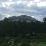 Le mont Puget autour duquel je vais me balader