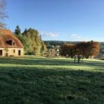 Paysage agréable en Auvergne