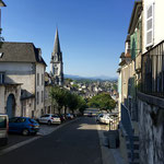 Arrivée à Oloron-Sainte-Marie