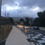 La route de Luminy vient d'être refaite, superbe pour les piétons et vélos.