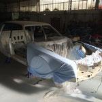 Restauration totale d'une BX 4TC