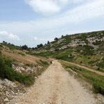 Le sentier vers Martigues