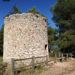 Ancien moulin sur le chemin de la Transhumance