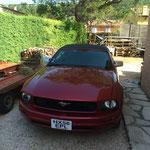 Sa nouvelle Mustang