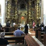 Bénédiction des pèlerins à Sahagùn