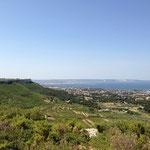 Vue sur la mer de Berre