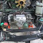Le moteur est remis en place