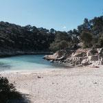 La plage de Port-Pin