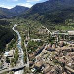 Vue sur Castellane