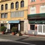 La rue Thiers à Grasse