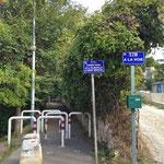 J'emprunte le chemin rural 34 pour aller de la Valbarelle à Saint Marcel