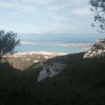 Panorama sur la Pointe Rouge et le Frioul