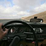 Direction le viaduc de Millau