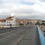 Passage sur le pont basculant de Martigues