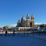Les travaux autour de la cathédrale de La Major avancent bien.