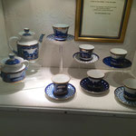 Service à thé en porcelaine