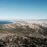 Belle vue sur la rade de Marseille