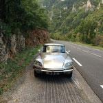 Arrêt sur les petites routes des Cévennes