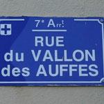Rue du Vallon des Auffes